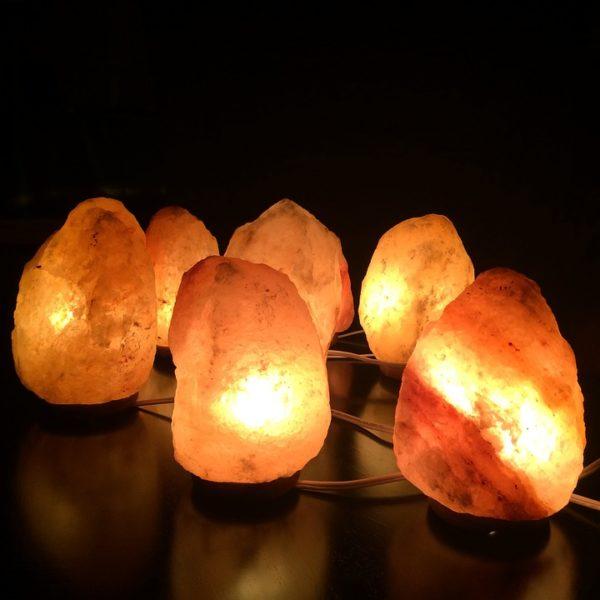 Lampade di sale, i benefici per purificare l'ambiente