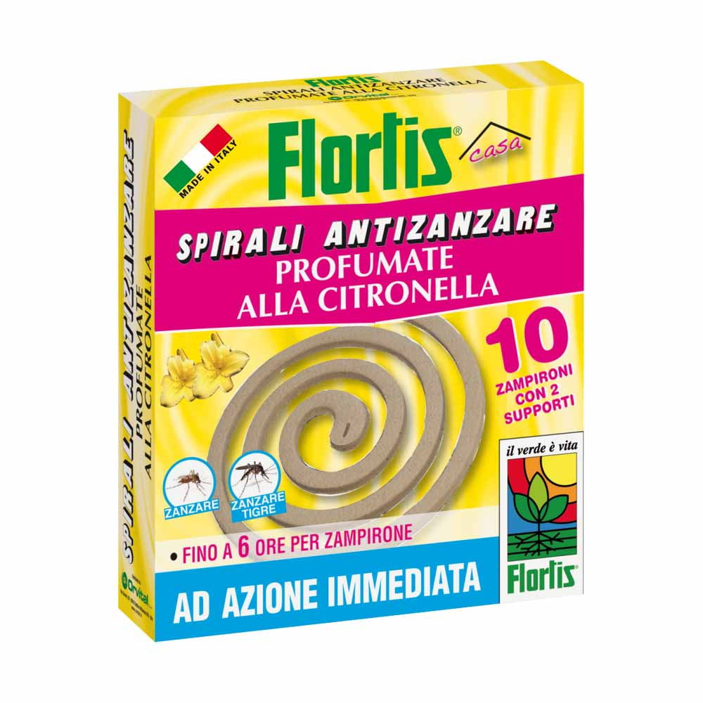 Flortis spirali antizanzare profumate