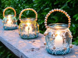 Lanterne Da Giardino Fai Da Te : Lanterna in stile boho chic viridea