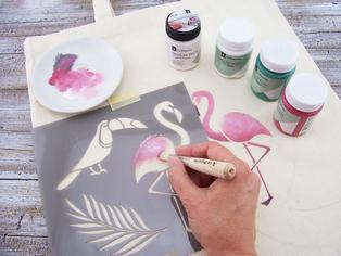 Shopper flamingo 1