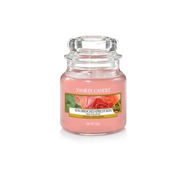 Yankee Candle Sun-Drenched Apricot Rose Giara Piccola