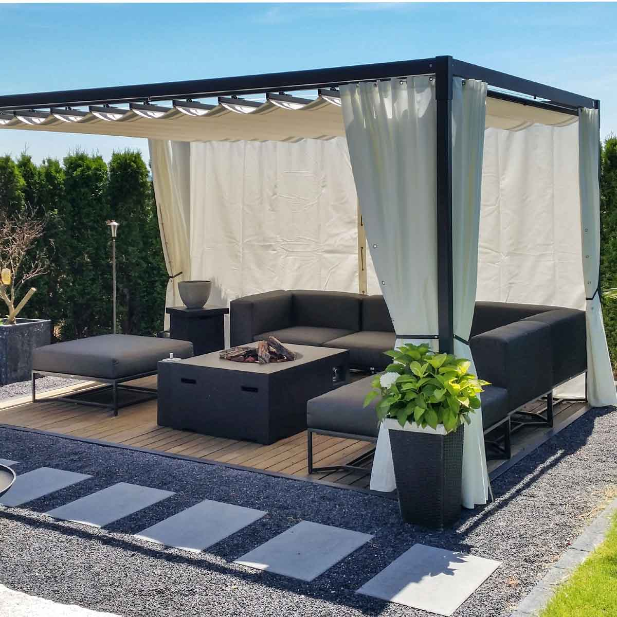 Gazebo MOOD UP 300×400 cm
