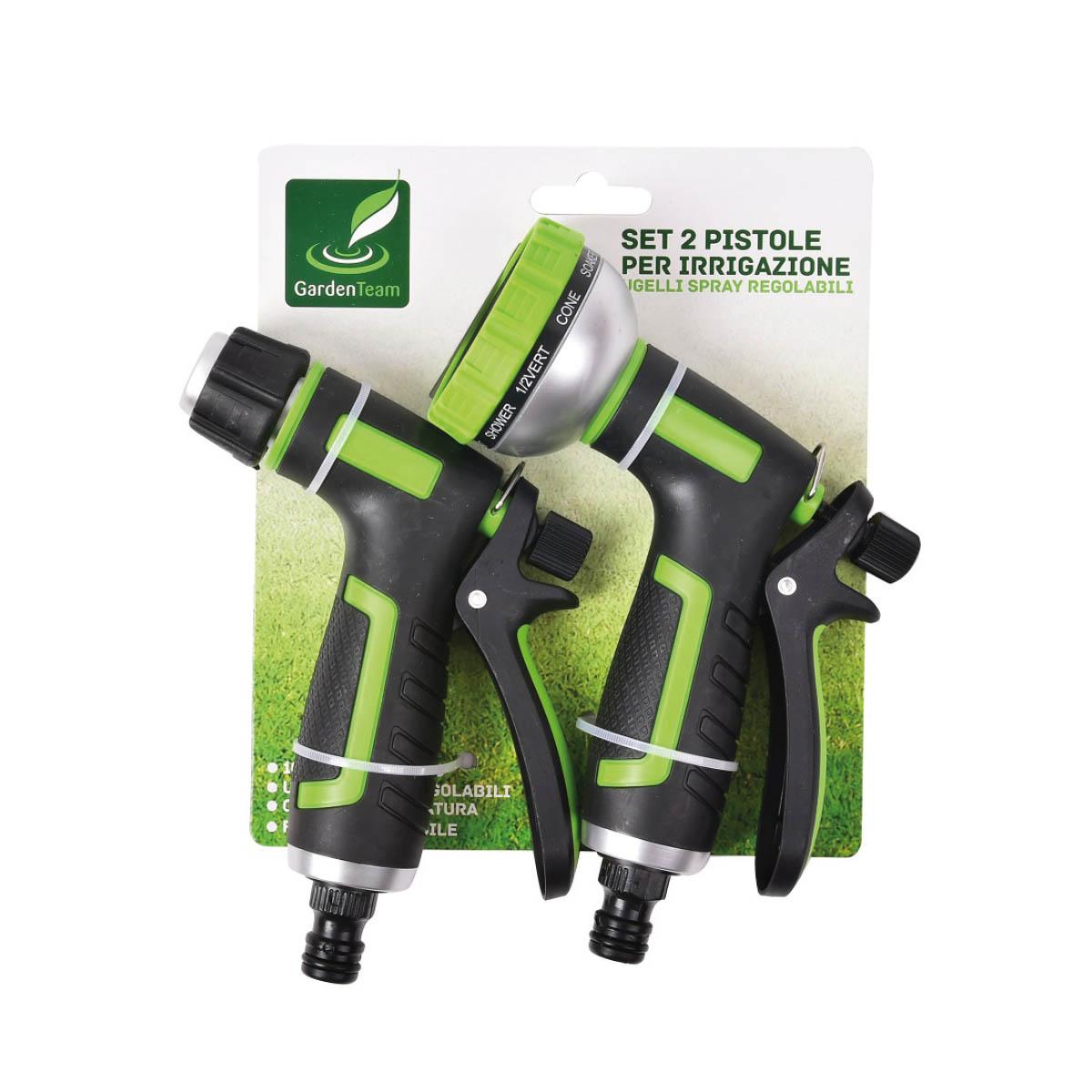 Set 2 pistole per irrigazione
