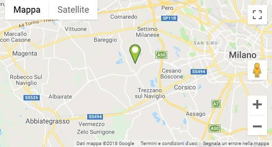 Mappa Garden Center Cusago