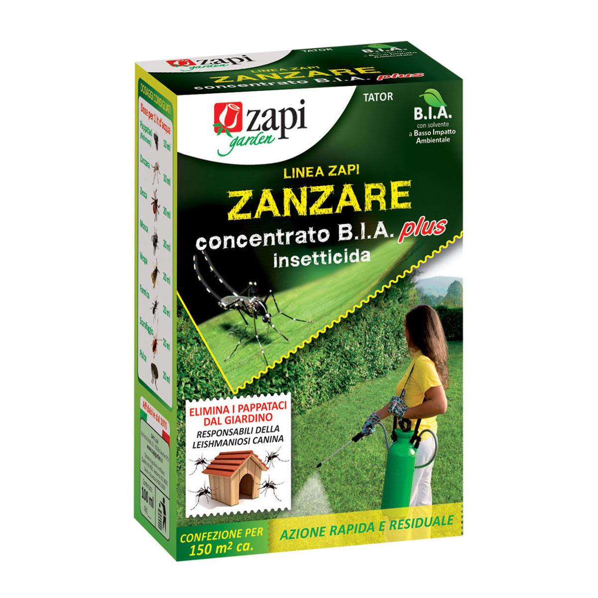 Zapi zanzare insetticida concentrato B.I.A. Plus 250 ml