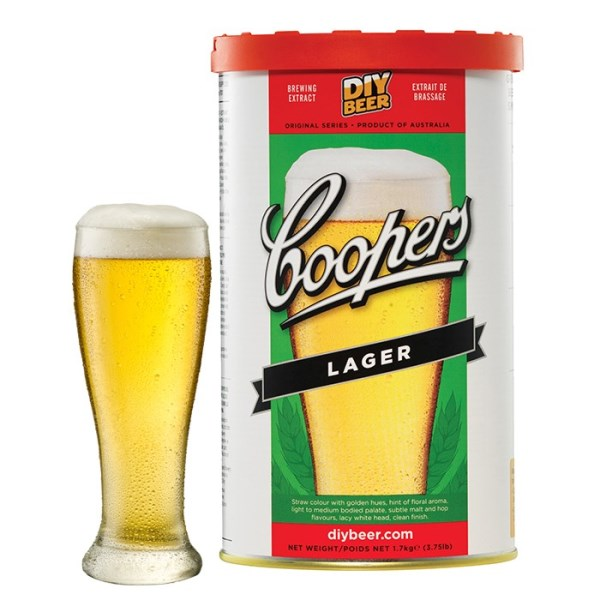 "Birra Coopers ""Lager"""