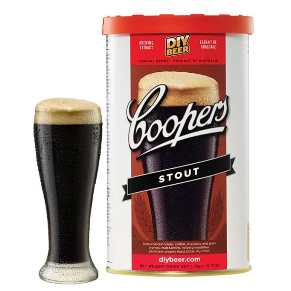 """Birra Coopers """"Stout"""""""