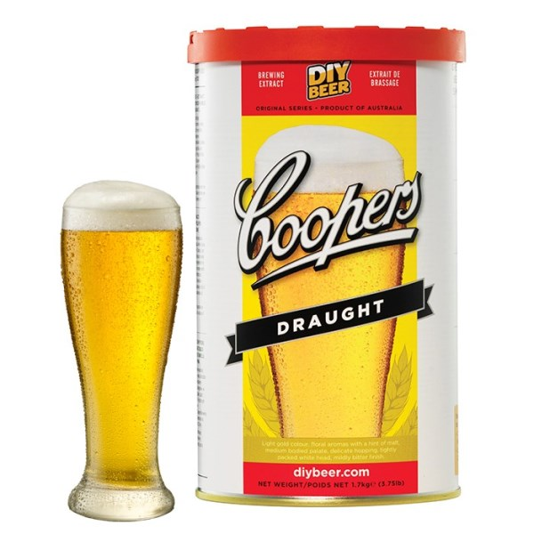 """Birra Coopers """"Draught"""""""