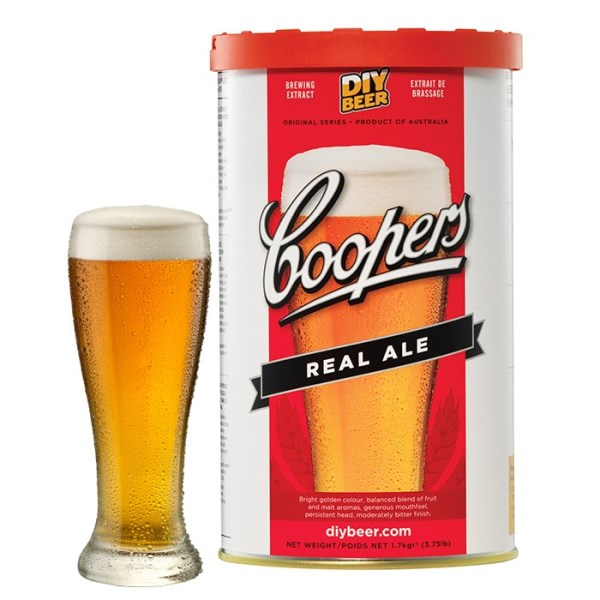 "Birra Coopers ""Real Ale"""
