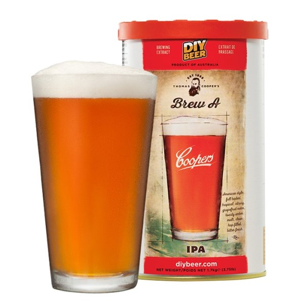 """Birra Coopers """"IPA – Brew A"""""""