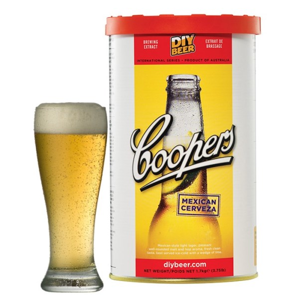 """Birra Coopers """"Mexican"""""""
