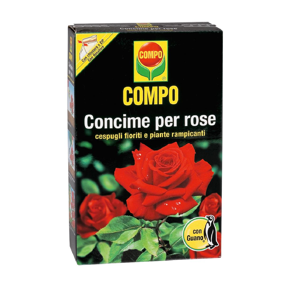 Compo Concime Rose con Guano 1kg