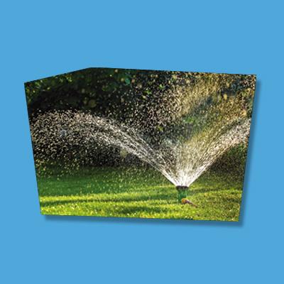 Irrigazione programmata con il doppio dei punti