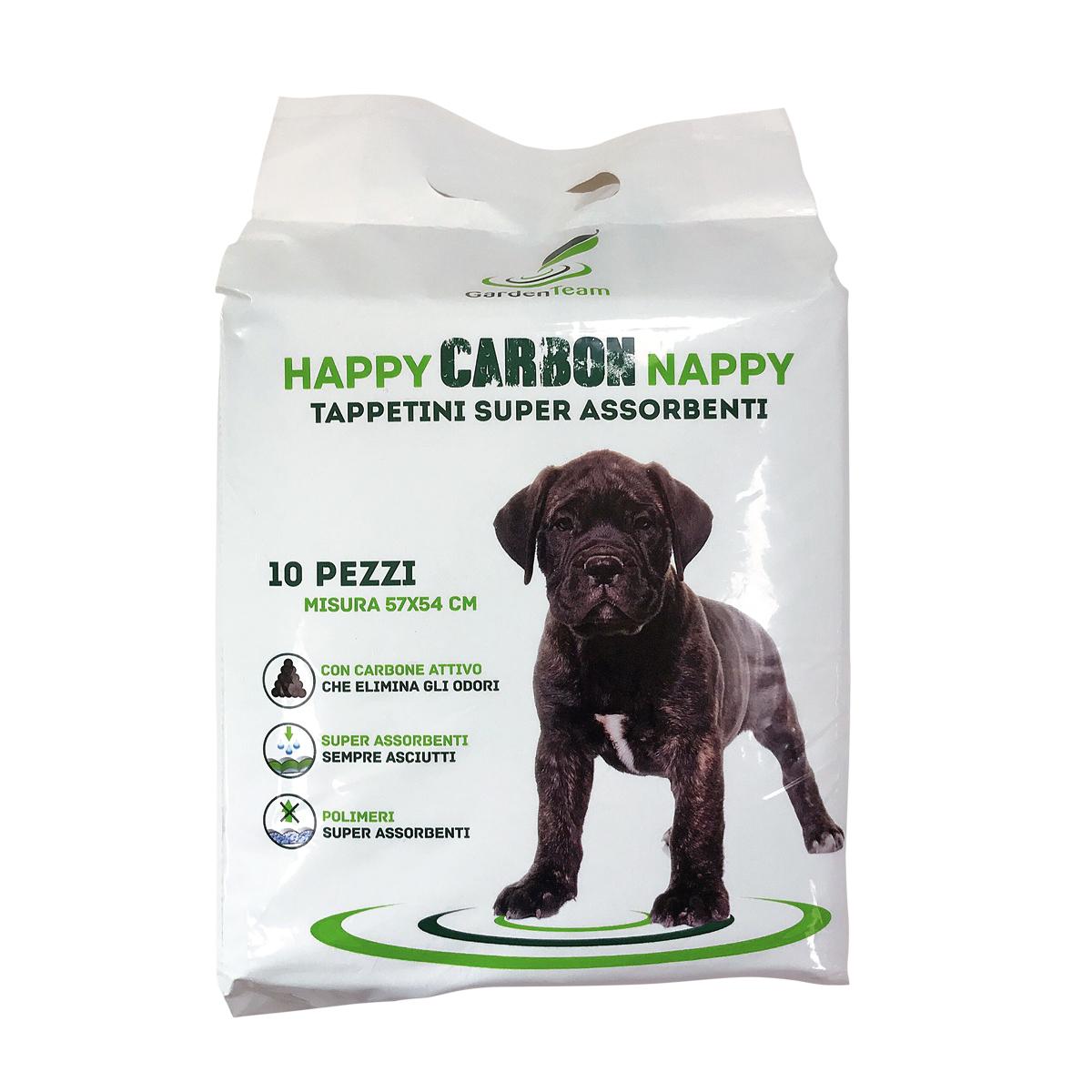 Tappetini igienici Happy Carbon Nappy