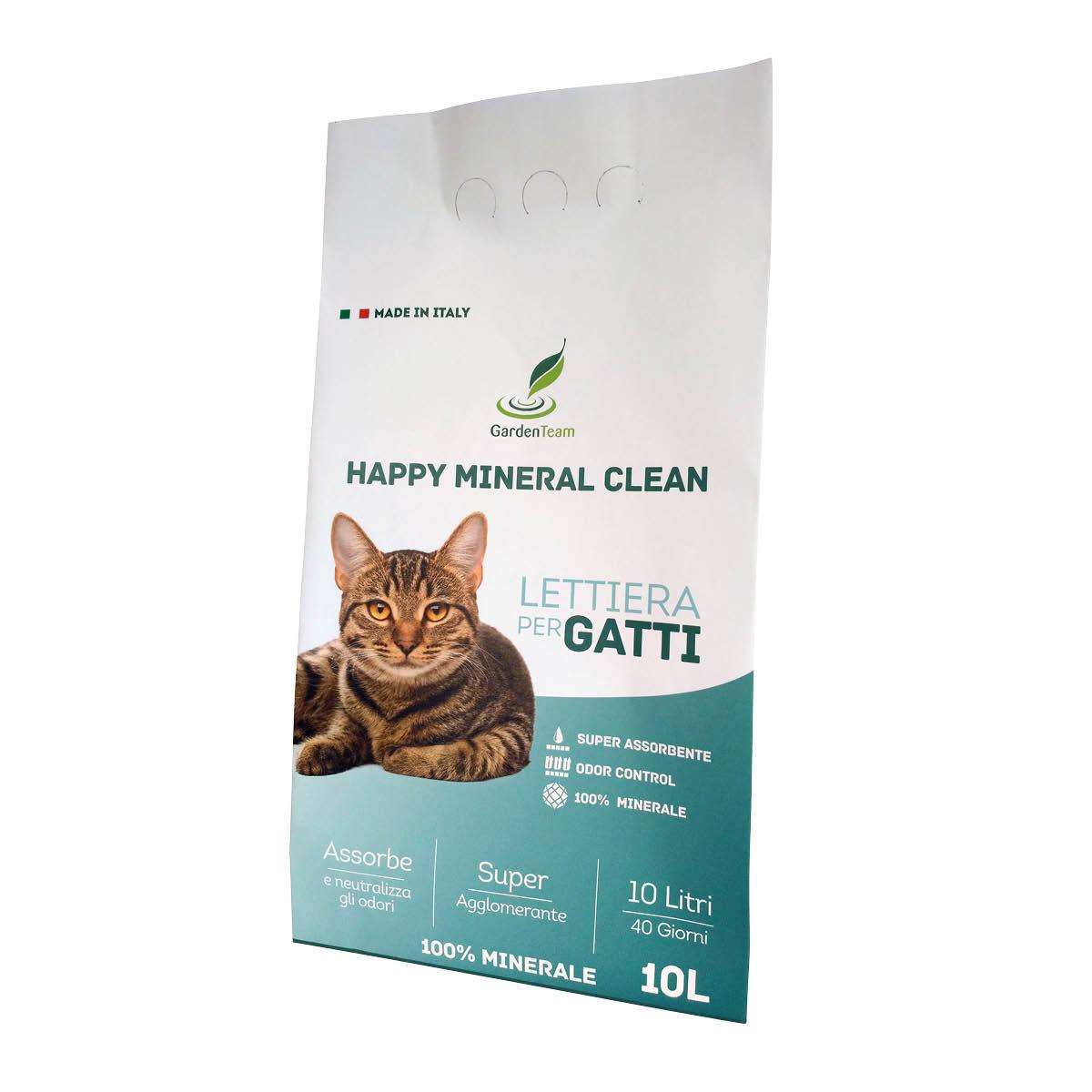 Lettiera Happy Mineral Clean 10 l