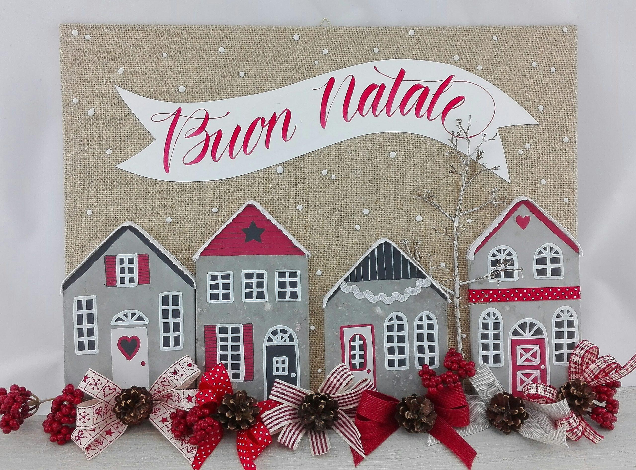 Villaggi di Natale fai da te