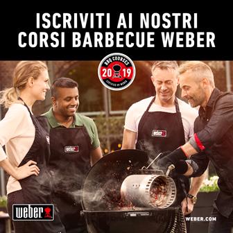 A lezione di BBQ con Weber™