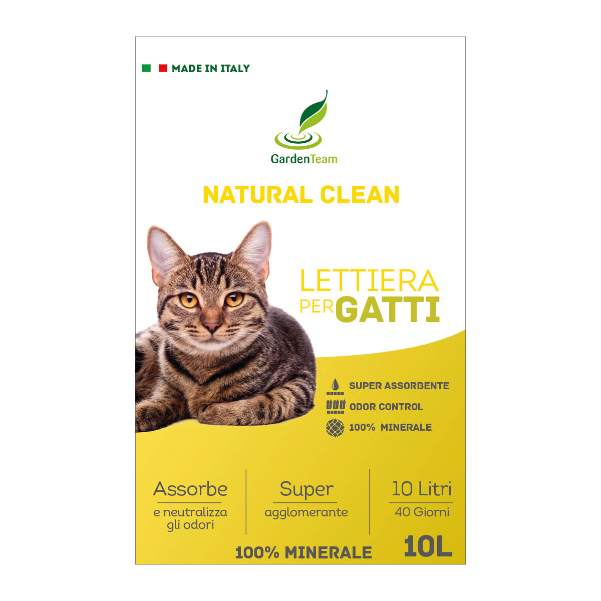 Lettiera Natural Clean 10 l