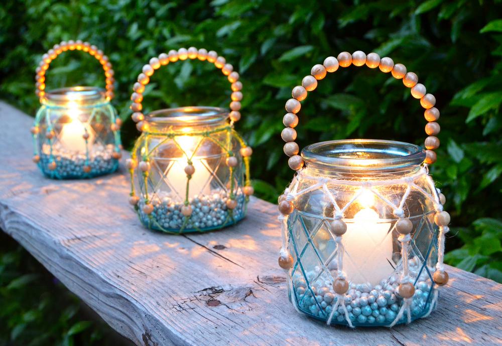 Lanterna in stile boho chic