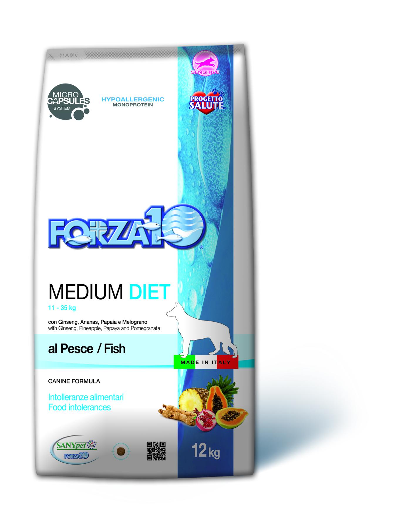 Forza 10 Diet Medium & Maxi 12 kg