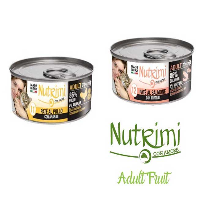Nutrimi Gatto Adult Fruit 85g