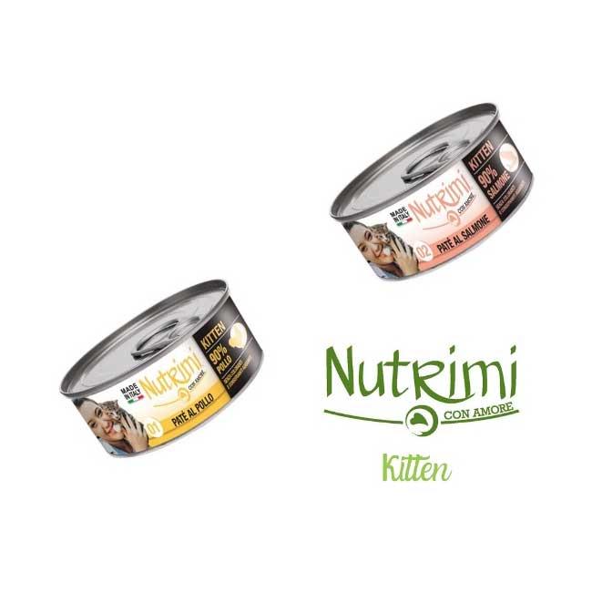 Nutrimi Gatto Kitten 85g