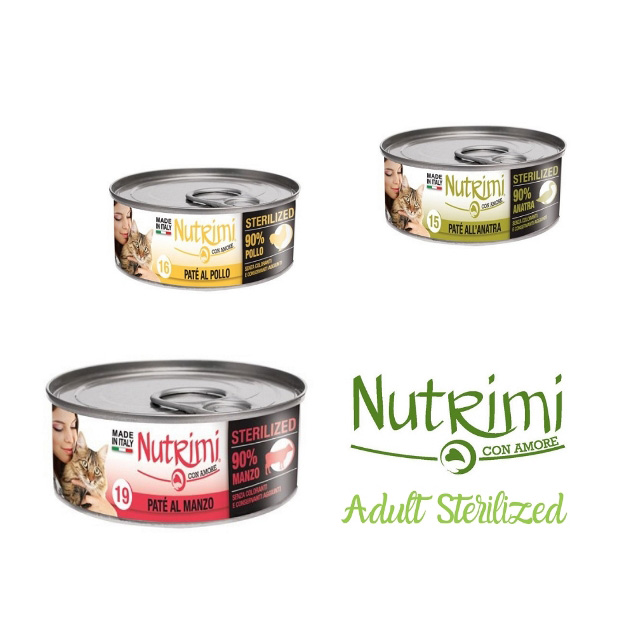 Nutrimi Gatto Sterilized 85g