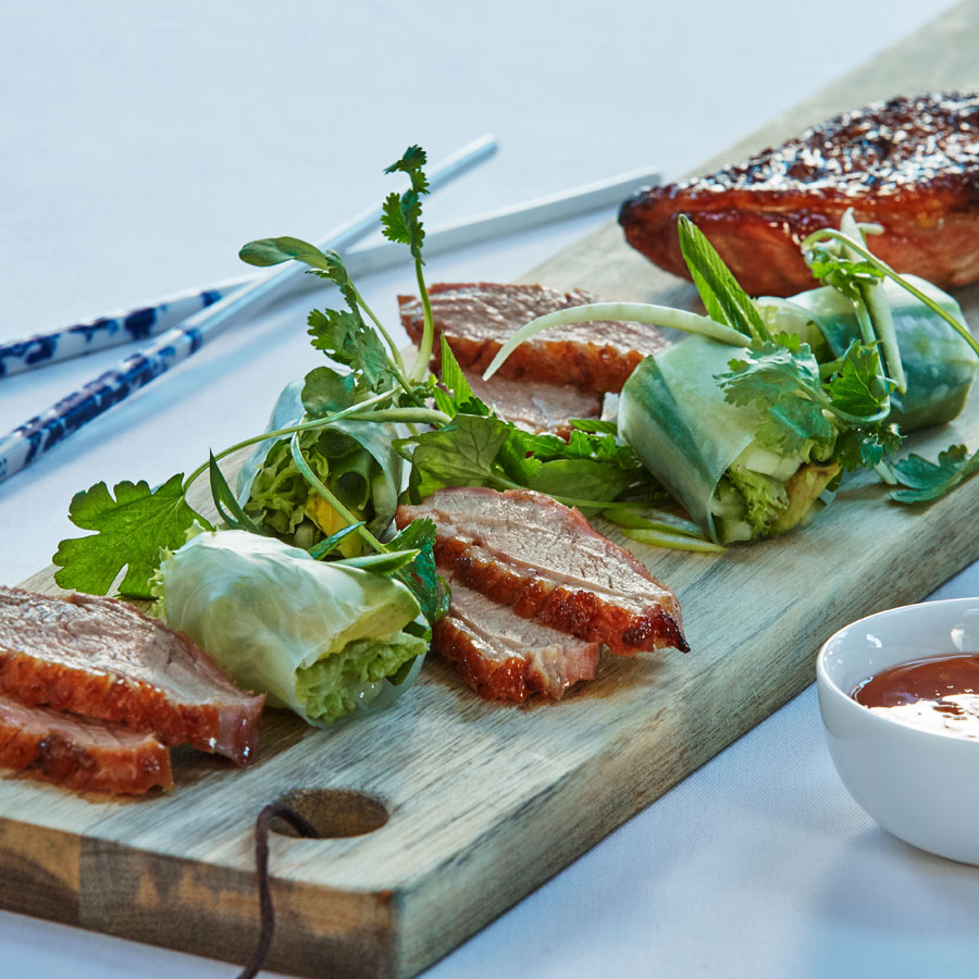 Petto d'anatra marinato in salsa teriyaki | @Weber