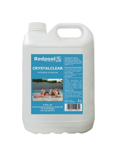Redpool Alghicida Crystalclear 5 l