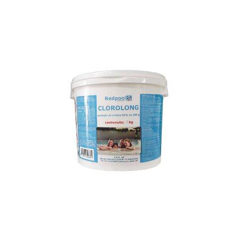 Redpool Clorolong pastiglie tricloro 200g -1kg