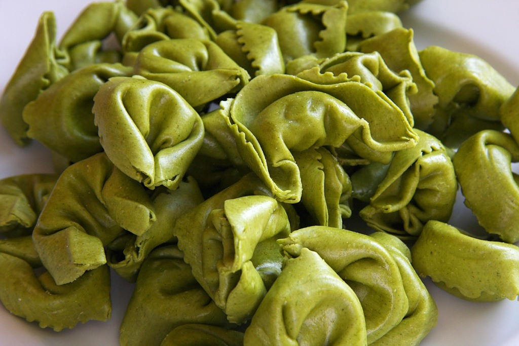 Ravioli spinaci burro e salvia