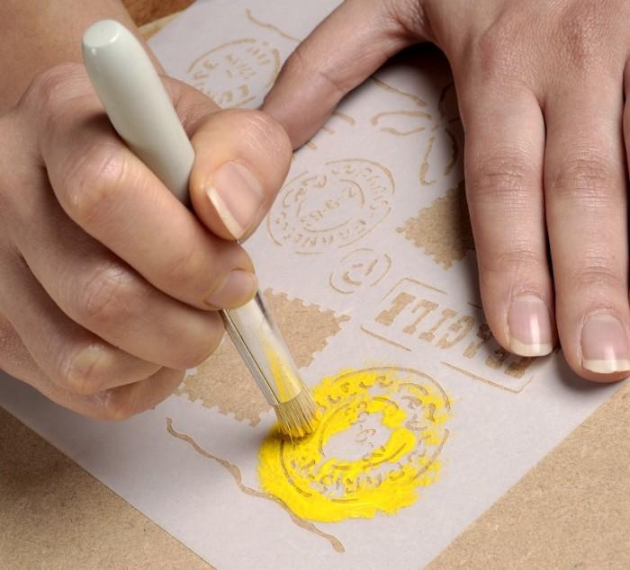 Lo stencil: la tecnica base