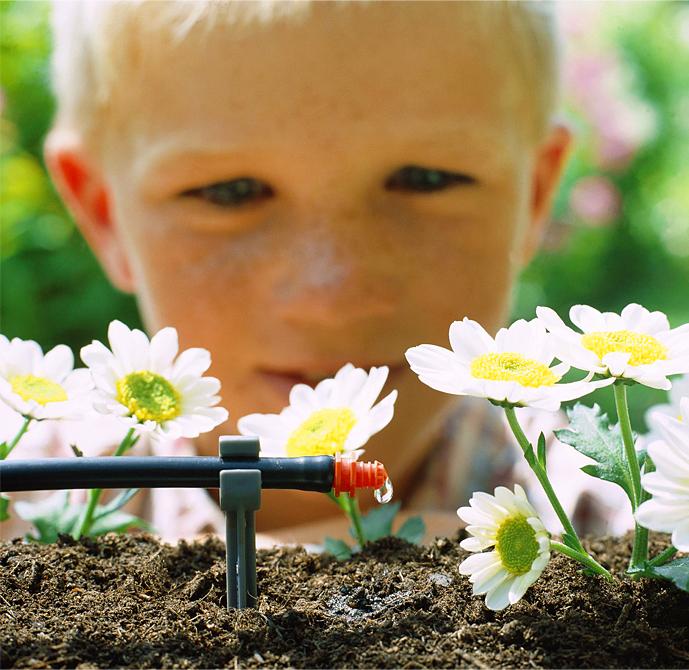 Microirrigazione in terrazzo e giardino