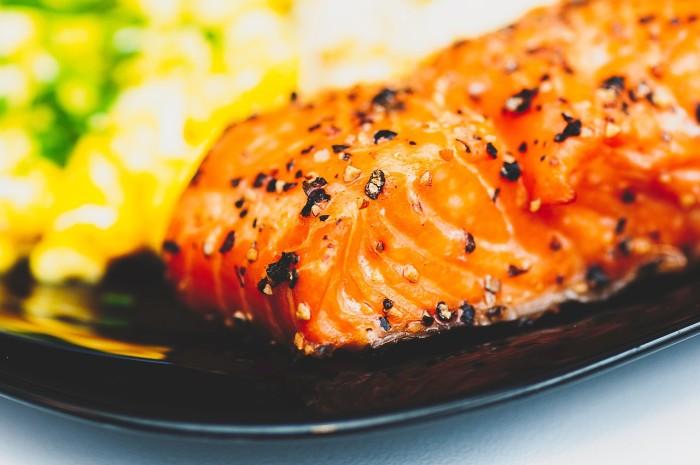Filetto di pesce alla maggiorana