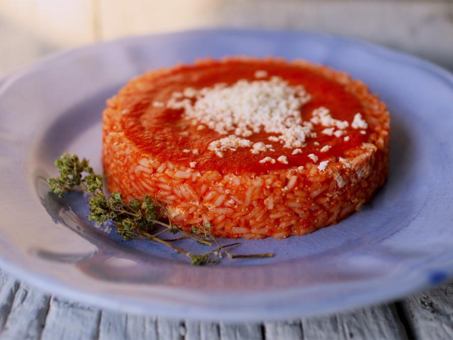 Riso brasiliano al pomodoro