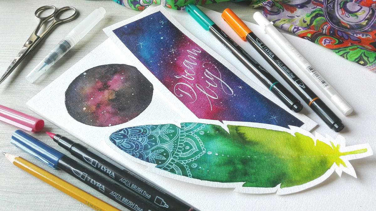 Galaxy Painting per disegni spaziali