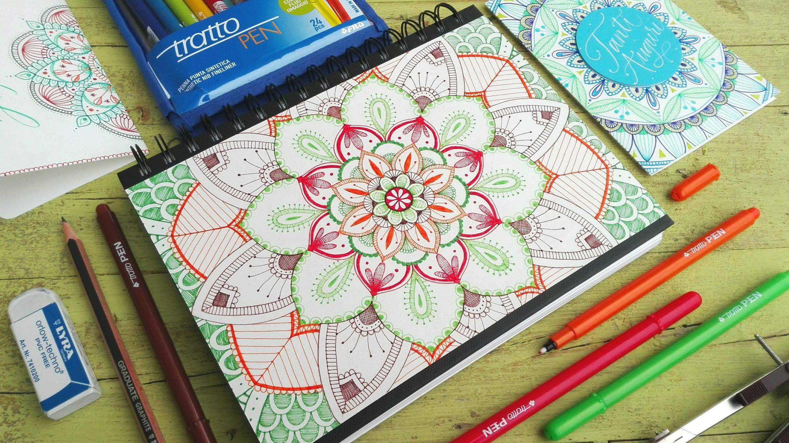 Creatività e relax con i mandala