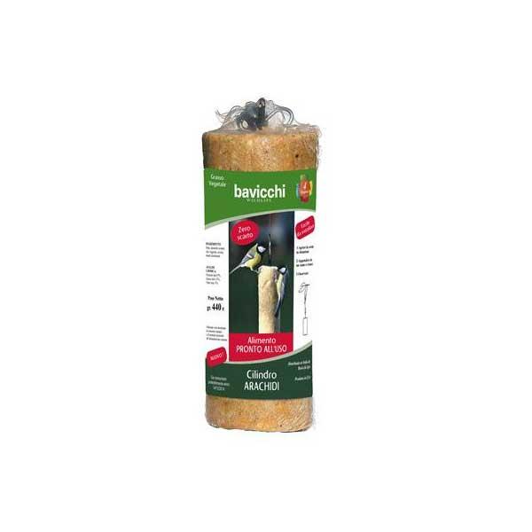 Cilindro di arachidi da appendere
