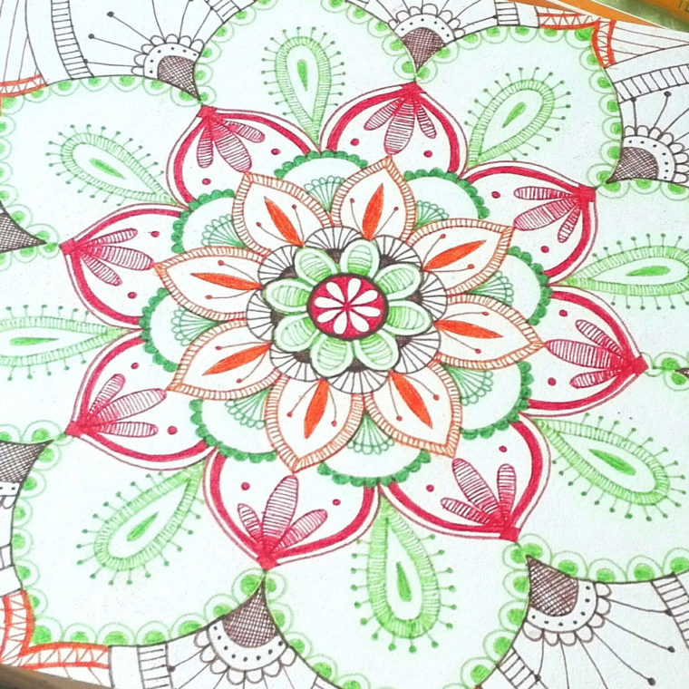 Mandala, un antistress creativo