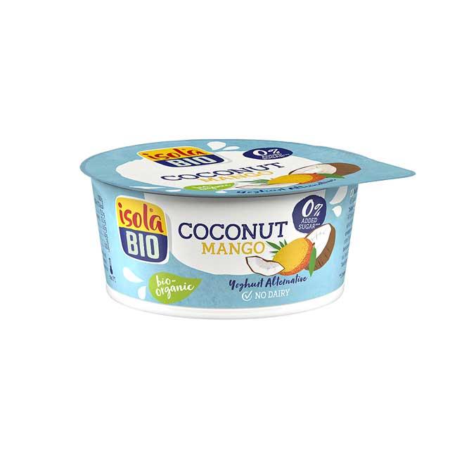 Dessert di cocco e mango