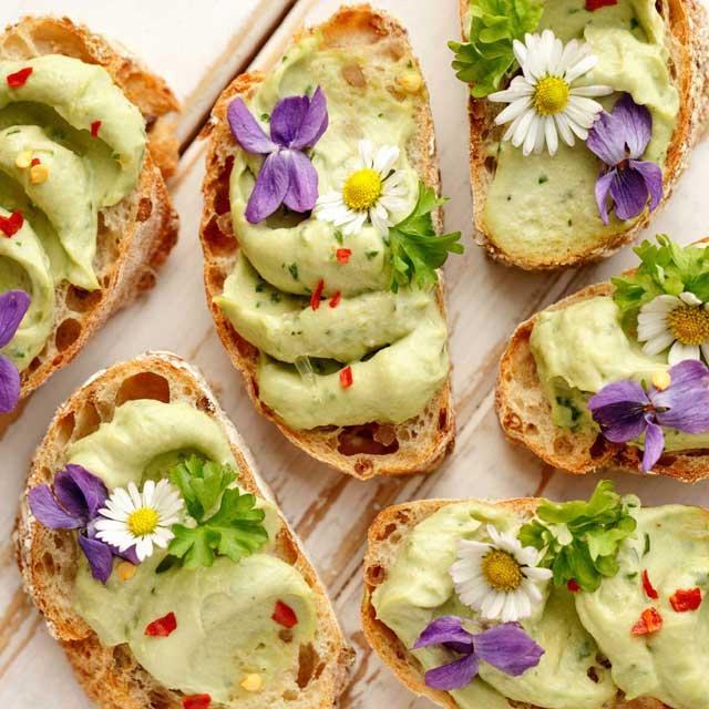 I fiori nel piatto: quattro stagioni in tavola