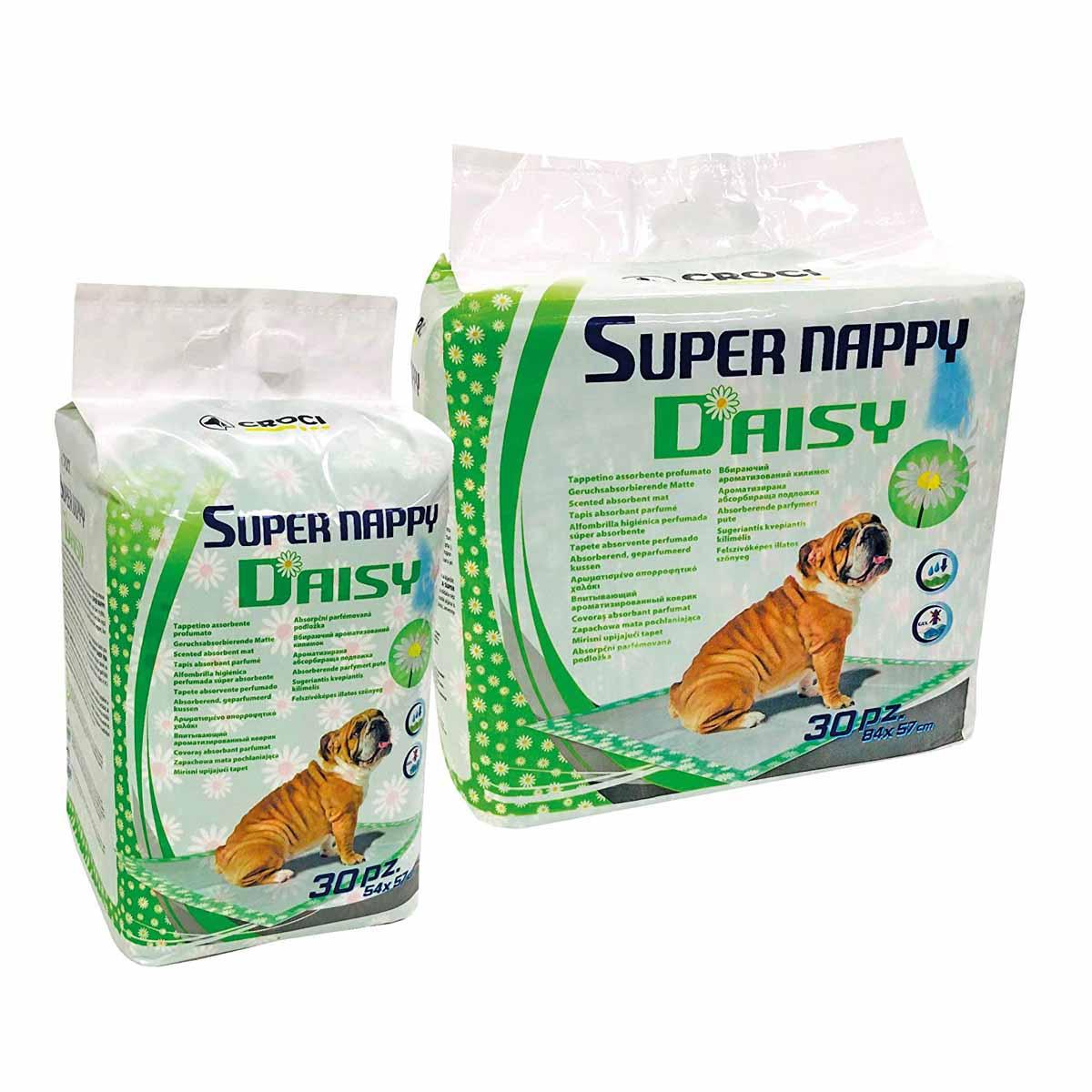 Linea tappetini igienici Super Nappy Daisy
