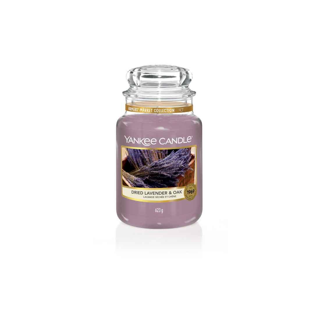 Yankee Candle Dried Lavender & Oak Giara Grande