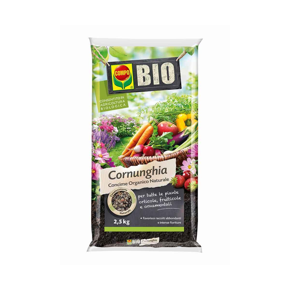 Compo Concime Bio Cornunghia 2,5kg