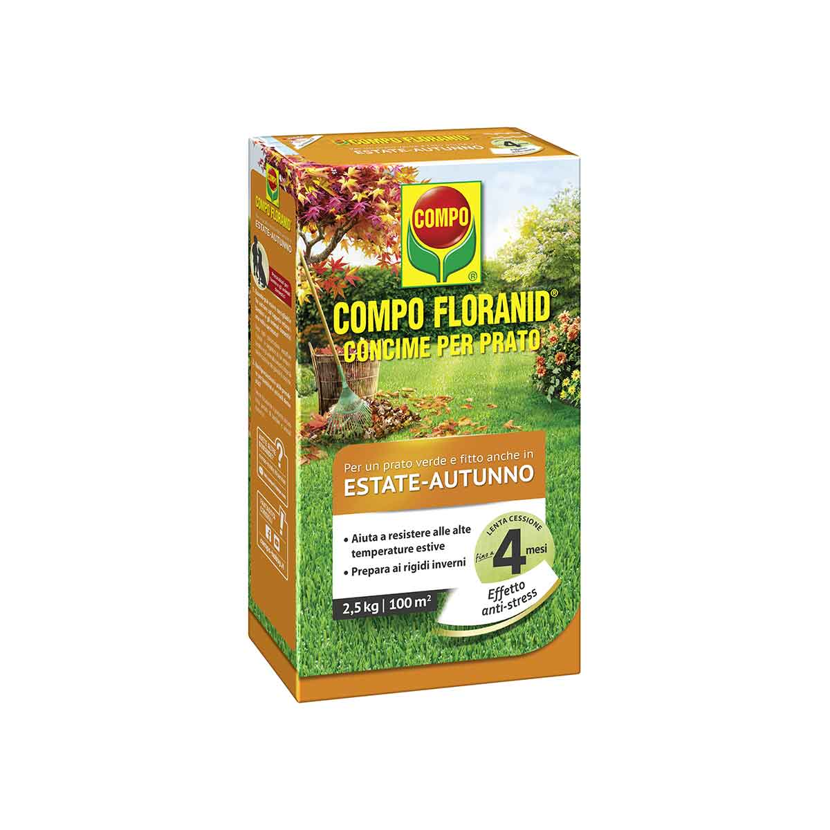 Compo Concime Prato Floranid Estate/Autunno 2,5kg