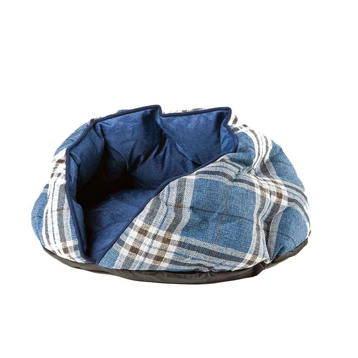 Cuscino Cuccia Tartan Denim