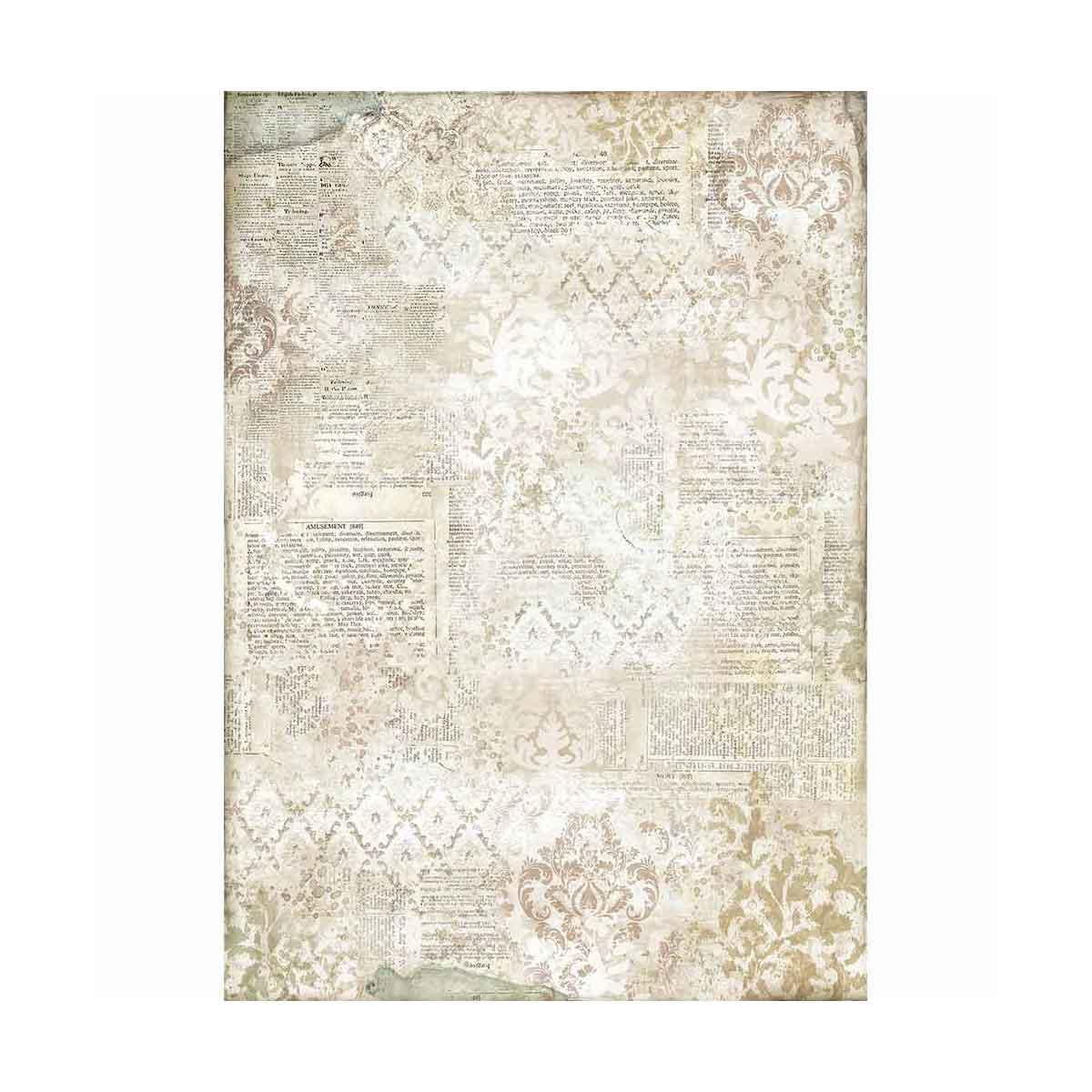 Linea Imagine – Carta di riso A3 Dizionario per Decoupage