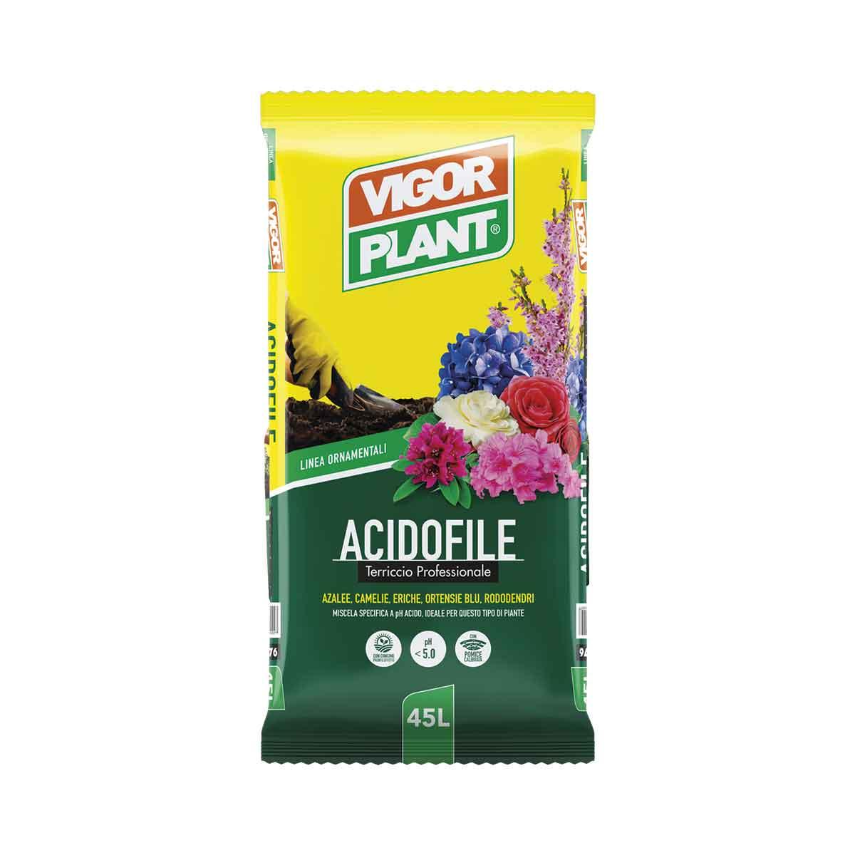 Vigorplant terriccio Acidofile 45l