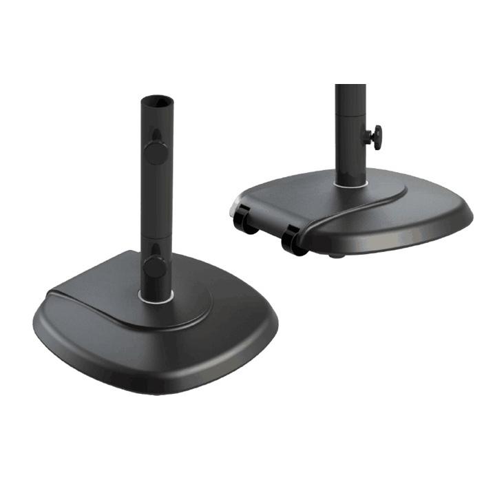 Base quadrata in cemento per ombrellone – 28 kg