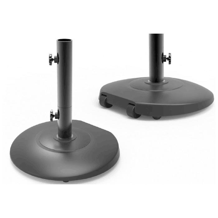 Base rotonda in cemento per ombrellone – 28 kg